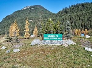 Kicking Horse Pass rest area Highway #1