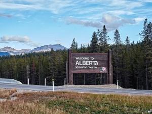 Back in Alberta!