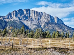 View #4 Yamnuska, Bow Valley Parkway