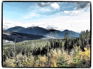 The view from Sinclair Pass Overlook #3 Art Filter