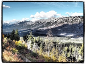 The view from Sinclair Pass Overlook #4 Art Filter