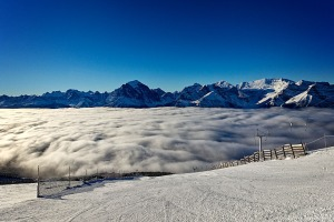 Cloud Bank and Beautiful Sky, Lake Louise