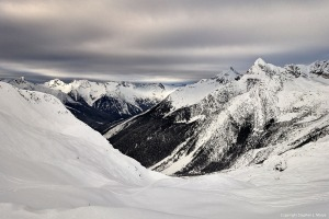 Another beautiful view- Lookout Col, Rogers Pass