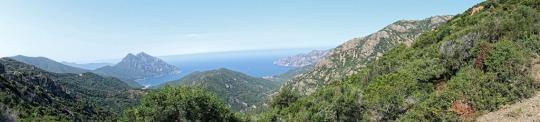 Panorama, col near Ajaccio