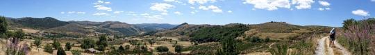 Panorama, Le Bleymard to Le Pont de Monvert