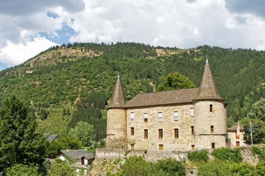 Stone castle, Florac