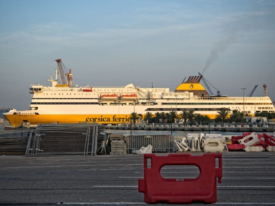 Our ferry as we leave Toulon, July 6 2015 early