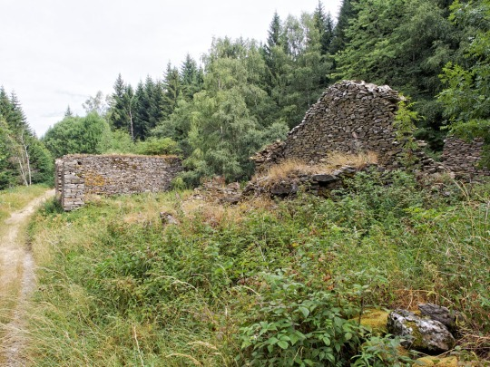 Ruins of Serremejan, Chasserades to Le Bleymard