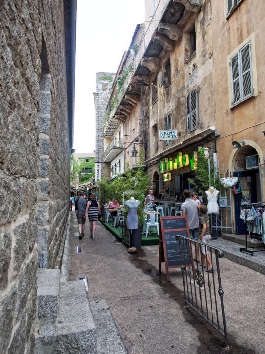 Narrow streets, Porto-Vecchio