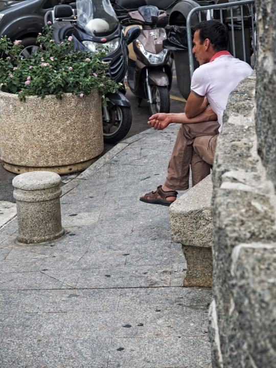 Relaxed Corsican, Porto-Vecchio