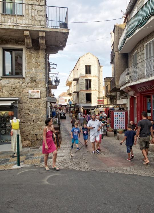 Street scene, Porto-Vecchio
