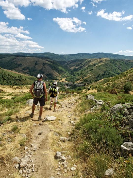 The descent to Le Pont de Monvert