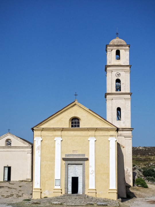 Church scene, near Calvi
