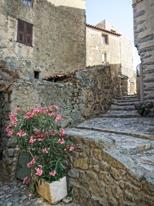 Beautiful stone architecture, near Calvi