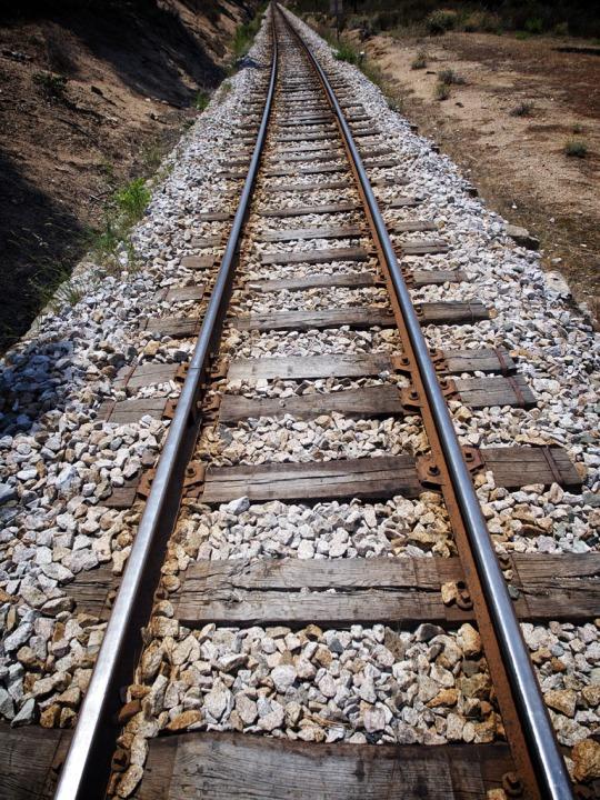 Railway tracks, St-Ambroggio