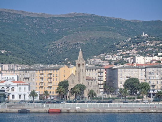 View of Bastia from the Ferry