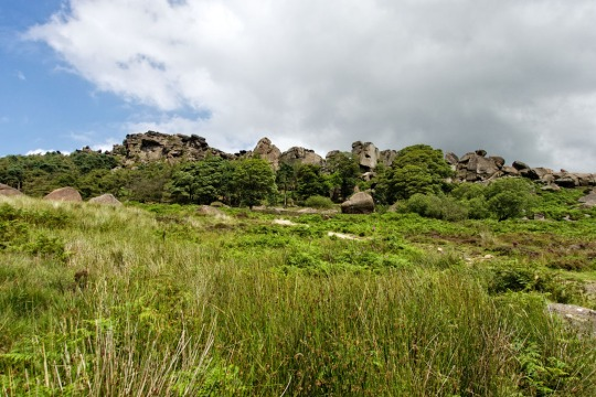 The Roaches, view from below, England