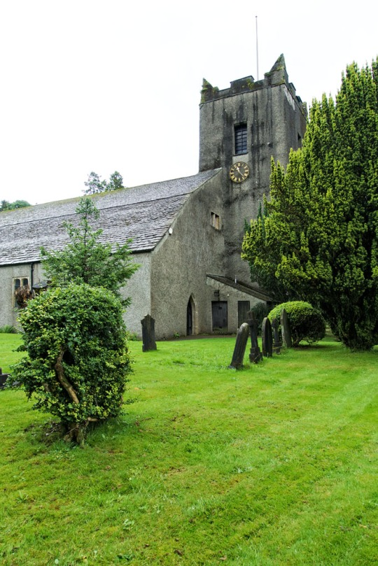 Beautiful old church, The Lake District England