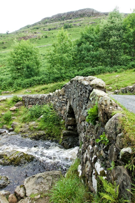 Old stone bridge, The Lake District England