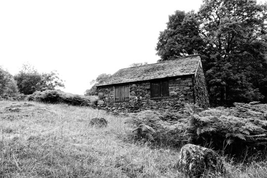Old stone hut, The Lake District England