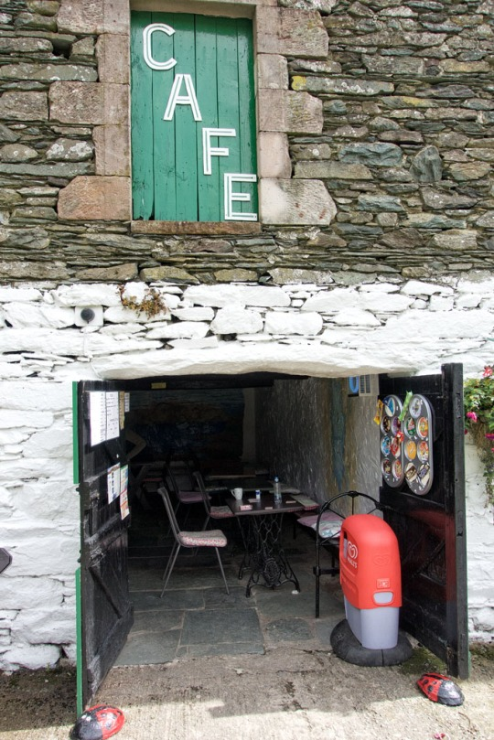 Small cafe at the base of Little Chamonix, The Lake District England