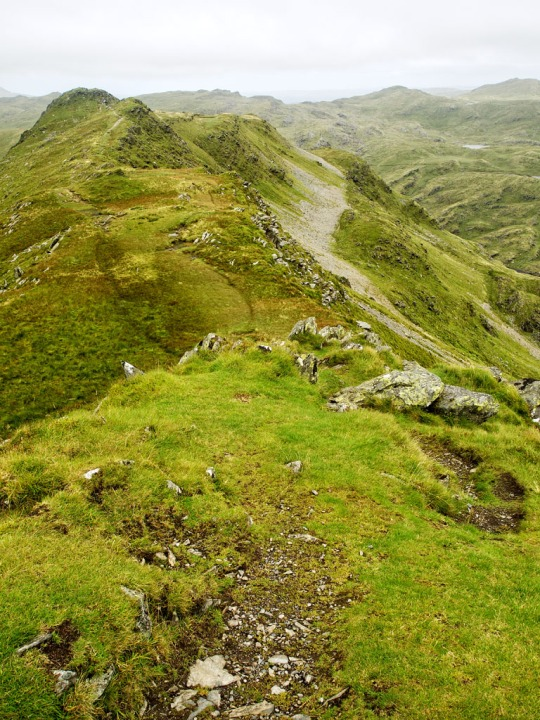 A view off the summit of Cnicht, Wales