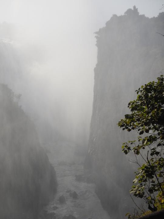 Victoria Falls mist, Zimbabwe Africa