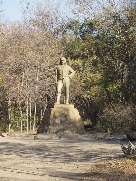 Livingstone (statue).....I presume! Victoria Falls, Zimbabwe Africa