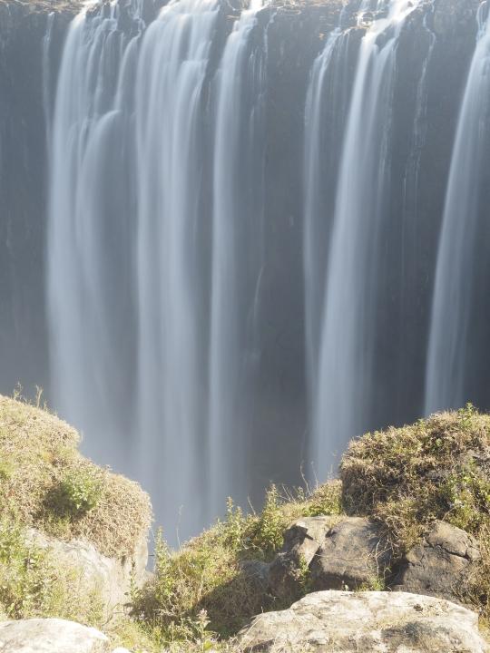 Soft Victoria Falls, Zimbabwe Africa